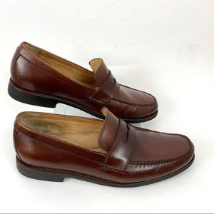 Johnston & Murphy Leather Loafers Brown Size 9 M